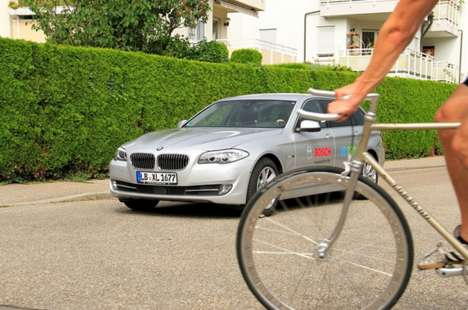 Anti-Collision Car Systems - Bosch's Driver Assistance System Reduces the Chance of Collisions