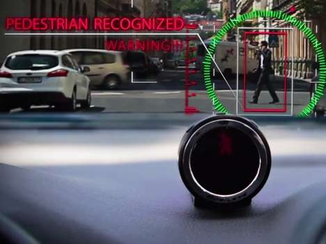 Intelligent Dashboard Cameras - This Smart Dashboard Device Helps Aid Accident Prevention