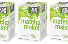 Earthy Citrus Matchas - The Matcha Maker Green Tea Offers a Natural Energy Boost