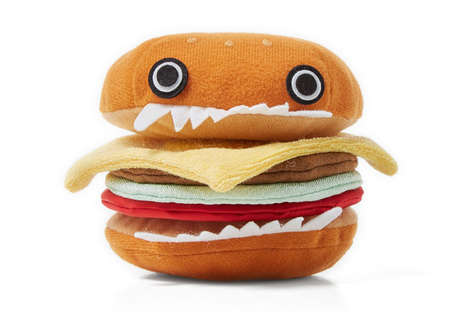 Plush Burger Dolls - The UNCOVER Hamburger Soft Toy is Ideal for Adult Foodies