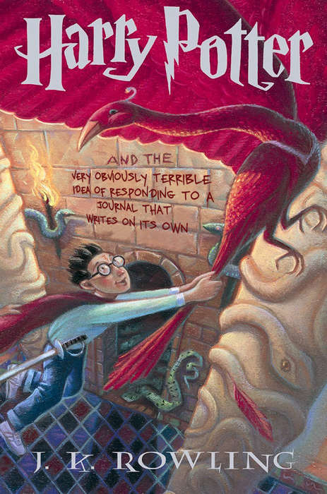 Humorously Re-Titled Wizard Books - These Harry Potter Books are Given Brutally Honest Titles