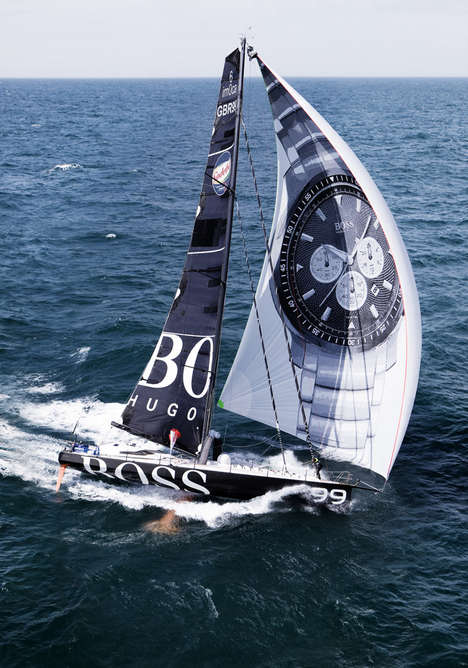 Branded Racing Yachts - The 'IMOCA' is Sponsored and Designed by Hugo Boss