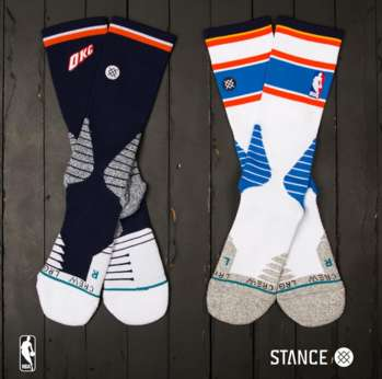 Athletic Sock Collections - The NBA and Stance Hoops Joined Forces for a New Sock Collection