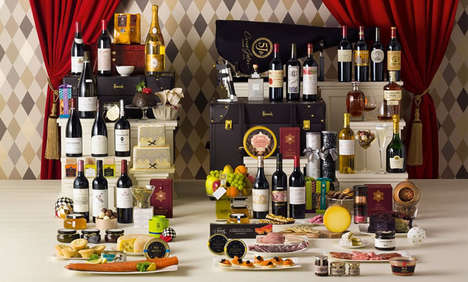 Opulent Christmas Hampers - This Holiday Gift Basket is Called 'The Decadence' and Costs $31,000