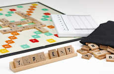 Typographic Board Games - Andrew Capener's New Scrabble Game Has a Variety of Creative New Fonts