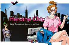 Fashion-Forward Superhero Comics - This Comic Book Tells the Story of a Stylish Young Superhero