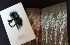 Space Villain Notebooks - These Moleskine Star Wars Notebooks Feature Artwork of the Film's Bad Guys