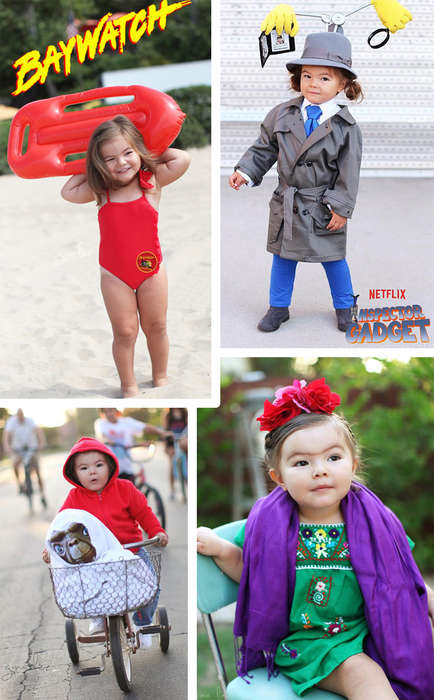 Pop-Cultural Halloween Costumes - This Photographer Dressed Her Daughter In Creative Kid's Costumes