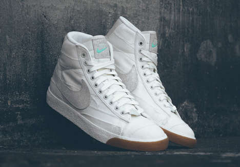 Pyramid-Inspired Sneakers - This White Nike Blazer Takes Design Inspiration From Egyptian Pyramids