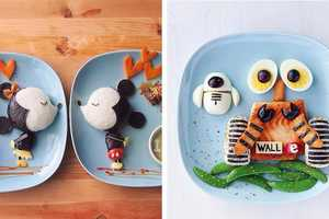 These Cartoon Food Plates Encourage Kids to Eat Veggies