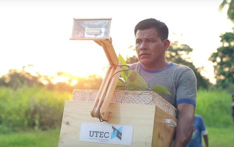 Sustainable Plant Lamps - The 'Plantalámpara' Supplies Rural Electricity to Remote Jungle Areas