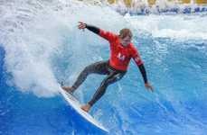 Airport Terminal Surfing Competitions - Surf & Style is an Annual Surf Competition at Munich Airport