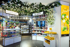This Duty Free Concept at Nice Airport Helps Entertain Shoppers