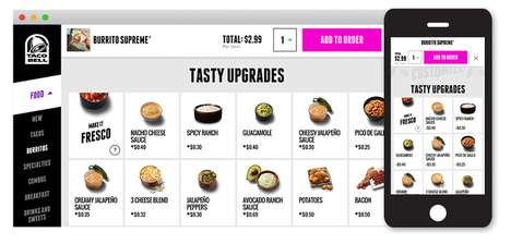 Personalized Taco Rewards - Taco Bell's ta.co Site Lets Users Customize Meals and Access Discounts
