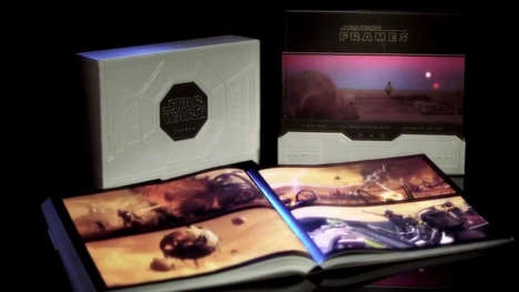 Movie Scene Publications - The Star Wars: Frames Book Takes Images from the First Six Episodes