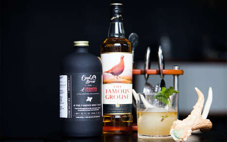 Artisanal Tea-Based Cocktails - These Artisan Teas are Designed to Be Paired with Alcohol