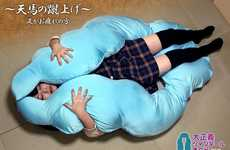 Body-Embracing Pillows