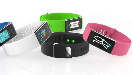 Vibrant Fitness Trackers - The Polar A360 Blends Heart Rate Monitoring With a Splash of Color