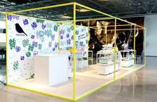 Vibrant Textile Design Pop-Ups - The Kauniste Pop-Up Brings Finnish Design to Helsinki Airport