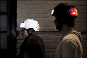 The Torch T2 Biking Helmet Helps Cyclists Be Seen from All Angles