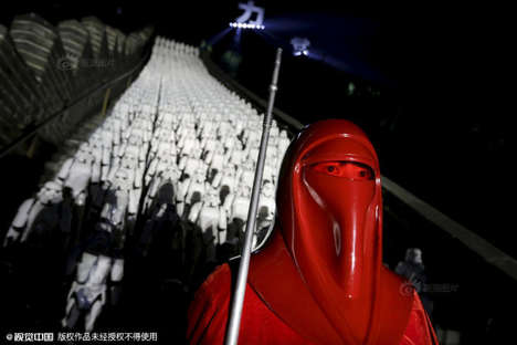Android Army Publicity Stunts - Stormtroopers Overran the Great Wall at This Chinese Star Wars Event