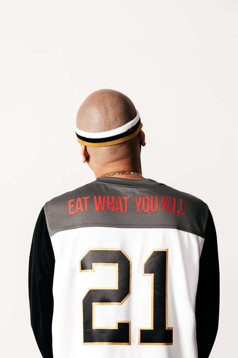Humble Streetwear Collections - The 'Eat What You Kill' Line Reflects Frank the Butcher's Life