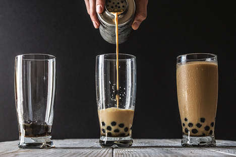 Autumnal Bubble Teas - Pumpkin Spice Bubble Tea Refashions a Traditional Taiwanese Beverage
