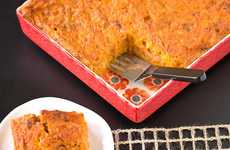 Squash Pizza Bakes - This Delicious Healthy Dish Fuses Pizza and Casserole Aesthetics
