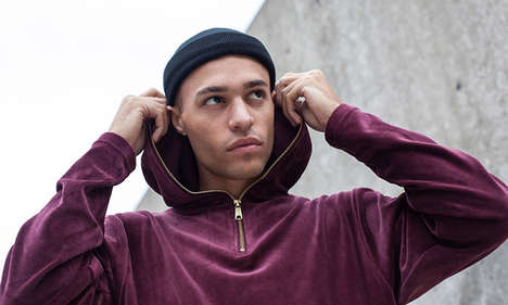 All-Velour Men's Collections - This KITH NYC Capsule Features Soft, Sleek Velour Men's Tracksuits