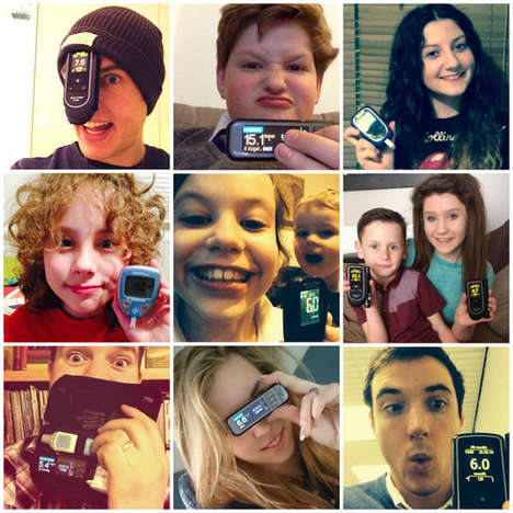 Diabetic Selfie Campaigns - This Diabetes Campaign Urges the Public to Share a #BloodSugarSelfie