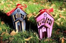 Haunted Paper Houses
