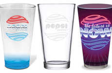 Faux Cola Glassware - The Pepsi Perfect Pint Glasses are Ideal for Back to the Future Fans