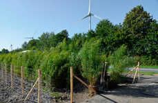 Sustainable Bamboo Highways - This Eco-Friendly Barrier May Help Reduce Noise Pollution