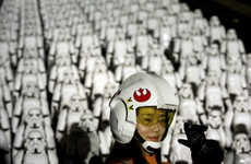 This Campaign Lined Up 500 Stormtroopers on the Great Wall of China