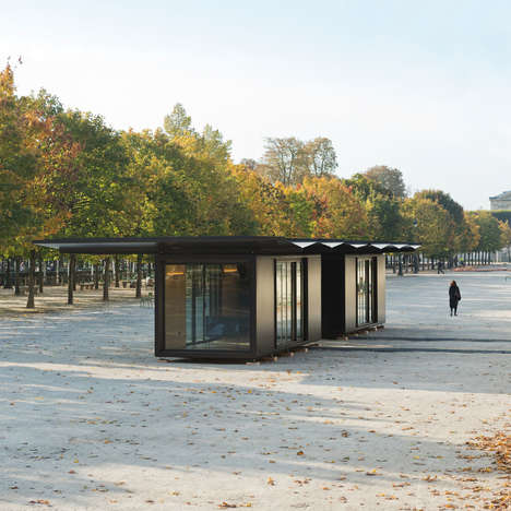Compact Kiosk Designs - These Multipurpose Kiosks are Inspired by Both Art and Architecture