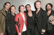 The Backstreet Boys Performed in the Finale of the H & M and Balmain Show