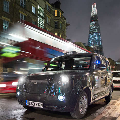 Elegant Electric Cabs - The London Taxi Company is Introducing a Fleet of Sleek Electric Vehicles