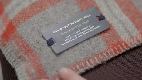 Heirloom-Branded Blankets - This Online Memory Mill Tracks Peoples' Blankets as They are Passed Down