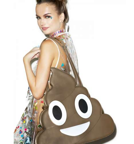 Colossal Emoji Totes - This Gigantic Emoji Tote Displays Crass Millennial Style
