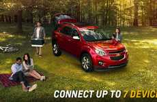 Sporty WiFi-Connected Trucks - The Chevrolet 4G LTE Initiative Powers Cars and Trucks with WiFi