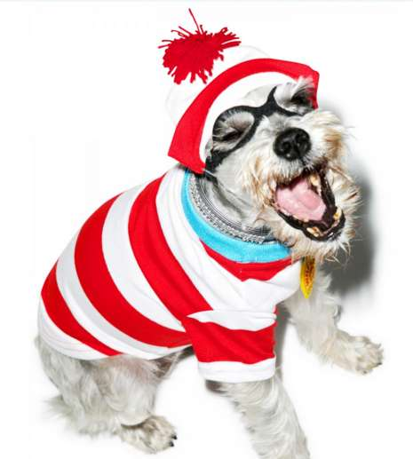 Hide-and-Seek Pooch Costumes - Dress Your Dog as the Where's Waldo Character with This Costume