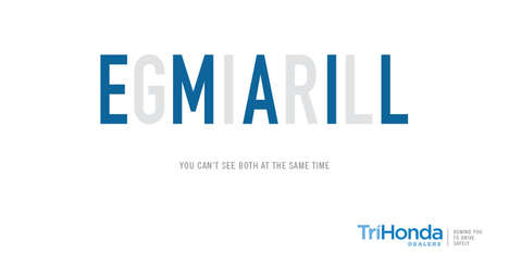 Jumbled Text Ads - These Driving Ads Use Illusions to Explain the Dangers of Texting & Driving