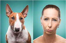 Dog People Diptychs - This Photo Series Compares People's Facial Expressions to Furry Friends