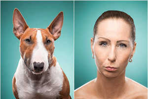 This Photo Series Compares People's Facial Expressions to Furry Friends