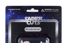 This 'Saber Cuts' Action Figure Depicts a Limb Lost to a Lightsaber Battle