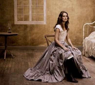 Antiquated Actress Editorials - Celebrity Keira Knightley Dresses as Thérèse Raquin for Vogue