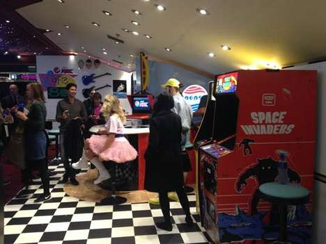 80s Film Cafes - Pepsi Recreated an 80s Cafe Experience for Future Day Celebrations