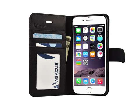Secure Smartphone Wallets - The iPhone 6S Wallet Case by Abacus24-7 Protect All Your Essentials