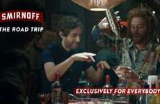 Serial Vodka Campaigns - Smirnoff's 'Exclusively for Everybody' Ads Have a Serial Progression