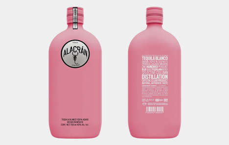 Cancer Awarness Tequila Bottles - Alacran Tequila is Selling Exclusive Pink Flasks for Breast Cancer